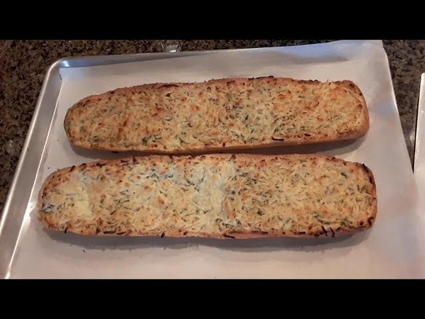 Чесночный хлеб для бутербродов