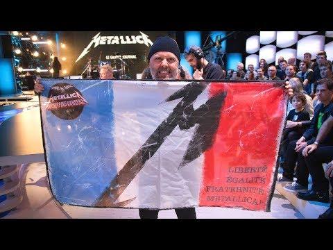 Metallica - Live at Studios Rive Gauche, Paris, France (2016) [Full HDTV Set]
