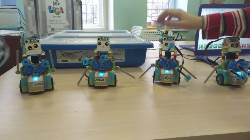 0 Танцующие роботы