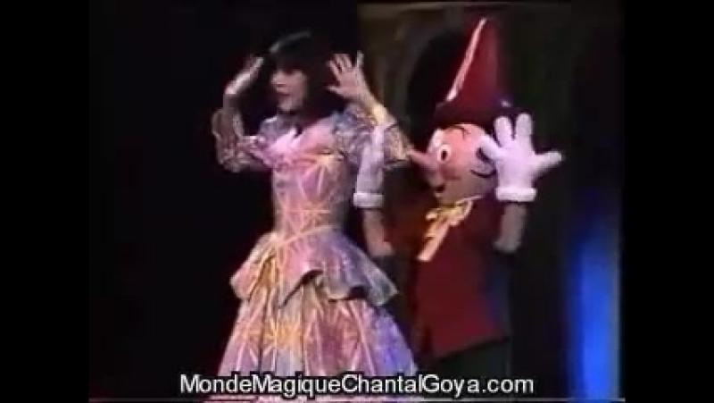 Chantal Goya Mon Pinocchio Mystérieux voyage de Marie Rose