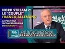 Nord Stream 2 : Le couple franco-allemand - Allocution de François Asselineau - UPR TV