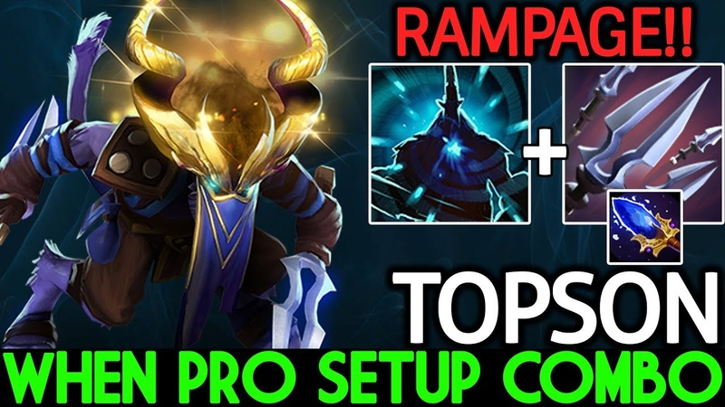 TOPSON [Riki] When Pro Setup Super Dirty Combo 7.20 Dota 2