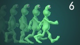 CGC Classic: Alien Walk Cycle (Blender 2.6) - Modeling and Animating an Alien Character Pt. 6