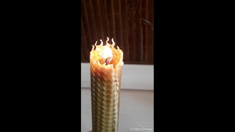 Виды свечей из вощины