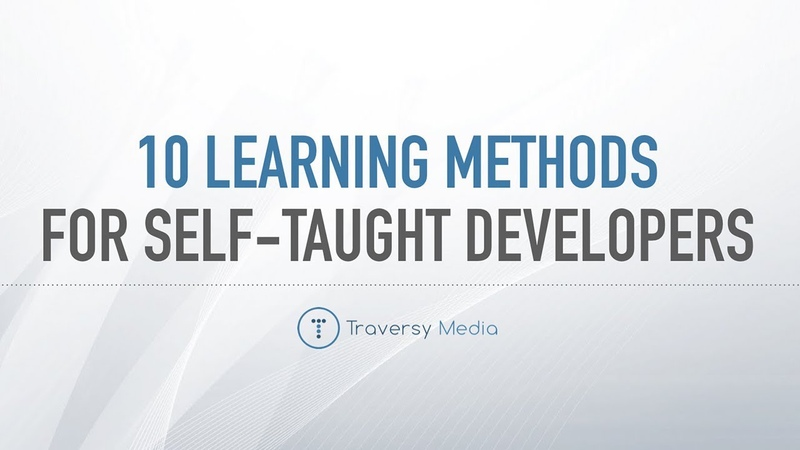 My Top 10 Learning Methods For Self Taught Developers