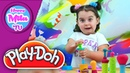 How To Compound Play-Doh Super Tools Sweet Shoppe Hasbro | HappyMilaTV 123