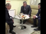 Встреча В.В Путина с Хабибом