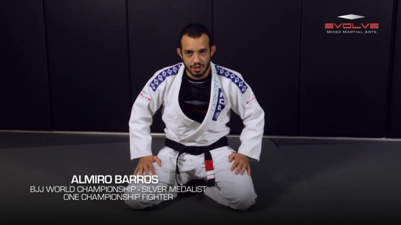 5 Triangle Choke Variations In 1 Minute - Almiro Barros