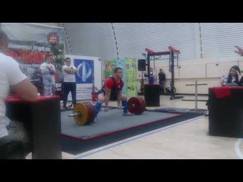 Дмитриев Константин Становая тяга 255 кг