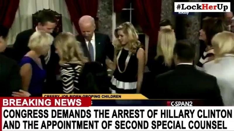 Breaking: der Kongress fordert die Verhaftung von Hillary Clinton nach dem Bombe.