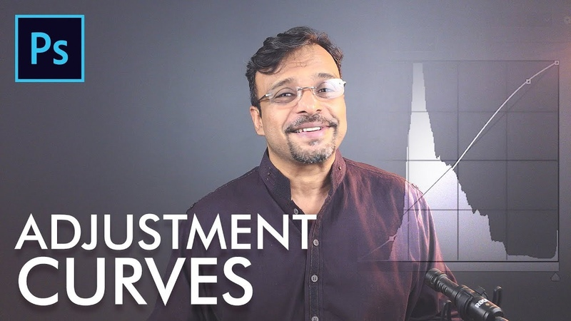 Adjustments Curves in Adobe Photoshop Urdu / Hindi