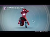 Destiny_20180129 RED WARLOCK . TROTTING DANCE .