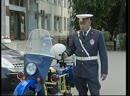 Мотоцикл Урал милицейский