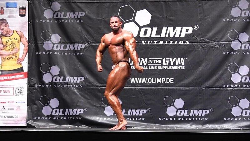 Männer 5 Kür Kevin Wolter @Int Deutsche Bodybuilding Meisterschaft 2016