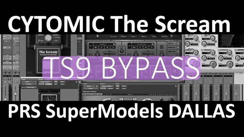 PRS SuperModels DALLAS Cytomic The Scream