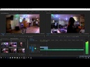 Как смонтировать клип в Adobe Premire