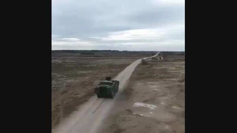 Унифицированная система запуска дымовых гранат с объектов бронетанковой техники 902 Туча
