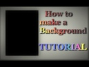 TUTORIAL How to make a background Polymer clay painting technique