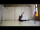Юлия Челакова. Strip plastic   Kats dance studio