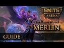 SMITE – Новый герой – МЕРЛИН! Гайд, обзор способностей и билд!