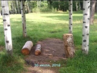 Проведена еженедельная уборка лесополосы на ул. Горького, на въезде в город, излюбленное место отдыха воскресенцев после выходны