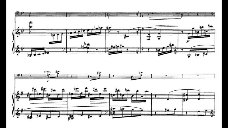 Gabriel Fauré - Cello Sonata No. 2 op. 117(1921)(with full score)