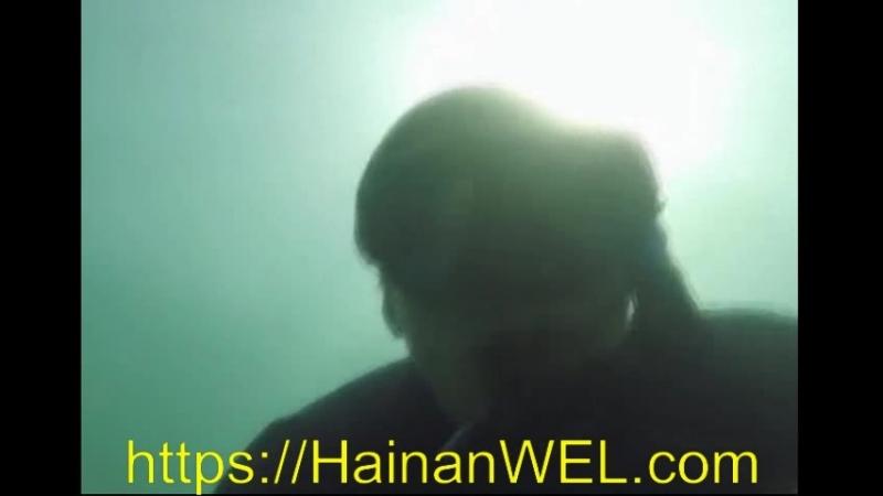 Снорклинг в Санья остров Хайнань Китай плавание под водой с маской и трубкой без акваланга экскурсия на видео