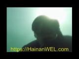 Снорклинг в Санья, остров Хайнань, Китай- плавание под водой с маской и трубкой без акваланга - экскурсия на видео