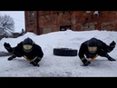 Functional training with sledge hammers