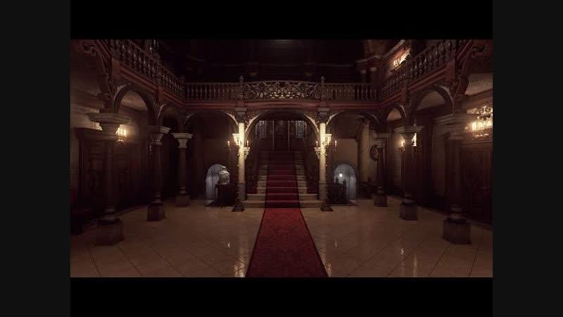 Resident Evil Remake Spencer Mansion recreated with Unreal Engine 4
