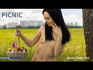 Sasha W - Picnic by Erotic Desire.com