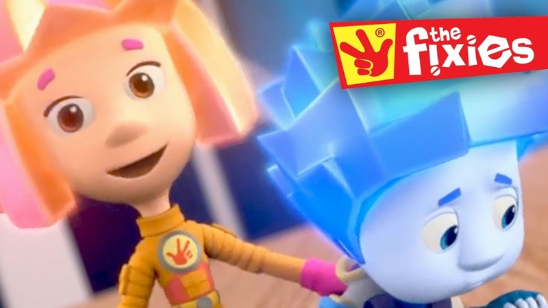 The Fixies ★ Nolik's Sister Simka ★ SISTER'S DAY   Fixies English 2017   Cartoon For Children