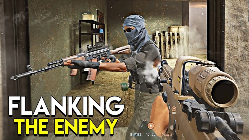 FLANKING THE ENEMY - Insurgency: Sandstorm (Beta Gameplay)
