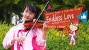 Jackie Chan Kim Hee Seon - Endless Love 美麗的神話 (The Myth Soundtrack) Violin Cover by Evelyn Halim