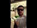 VIDEO Liam a posté cette vidéo de lui sur snapchat en écoutant LPSlow ️ 30.08