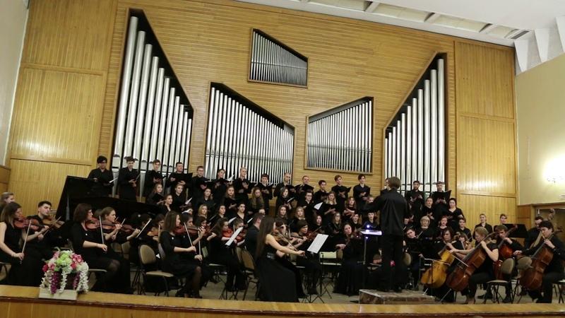 Оркестр Musica Integral - G. Faure Cantique de Jean Racine