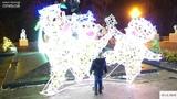 На Думской площади зажгли главную ёлку Одессы