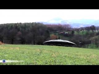 Засняли на видео инопланетян с НЛО.