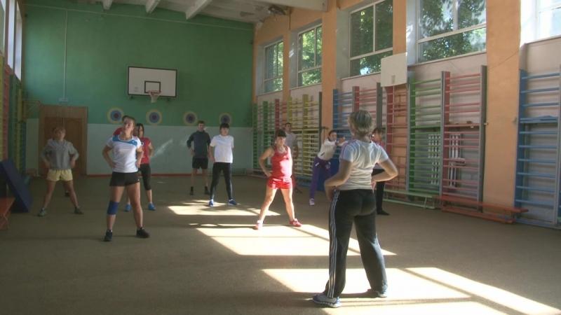Занятие по дисциплине Новые виды ФСД с методикой оздоровительной тренировки для студентов специальности Физическая культура