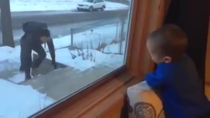 Эти папы знают как сделать ребенка счастливым