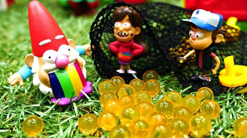 Гравити Фолз: Мейбл - королева гномов?! Мультики для детей