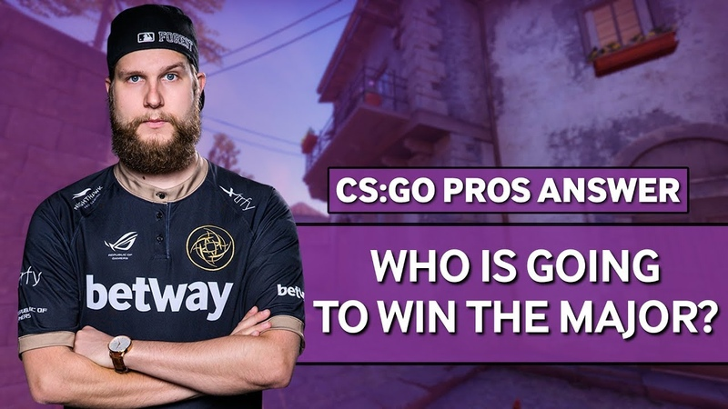 CS:GO Pros Answer: Who Is Going To Win The FACEIT Major?