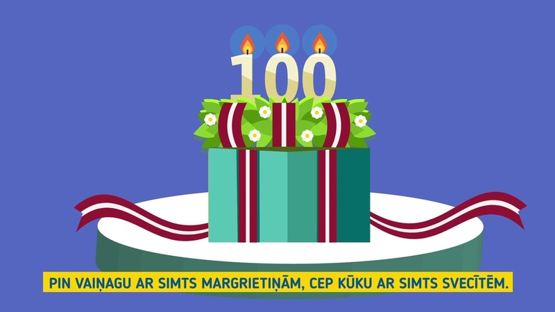 Join us to celebrate Latvia's centenary!