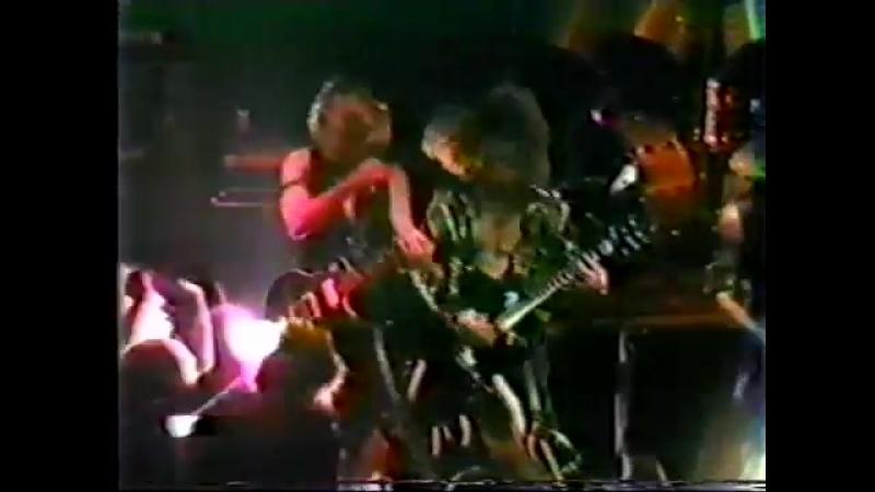 Slayer 12_28_83 Costa Mesa CA @ Concert Factory Full Concert
