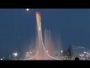 Шоу поющих фонтанов в Олимпийском парке Сочи 2017год