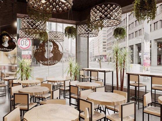 BUZfood ресторан Ольги Бузовой: где находится, когда откроется, фото интерьера, меню