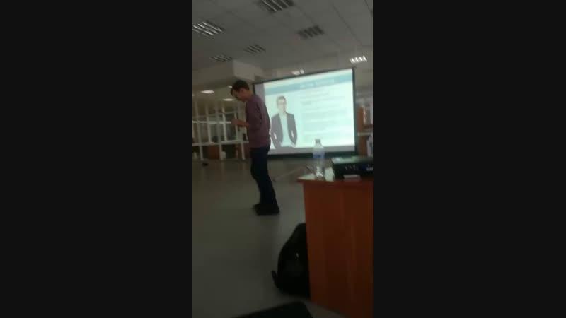 Иркутский молодёжный форум. Антон Климов, лучший молодой фотограф России