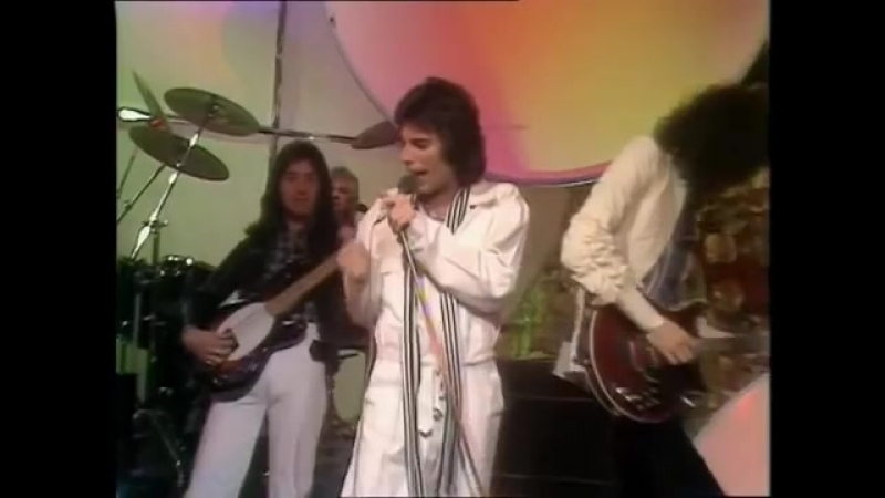Queen - Good Old Fashioned Lover Boy (Live TOTP 1976)