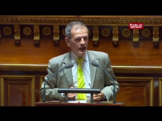 « L'immigration d'aujourd'hui, ce sont les terroristes de demain » selon Jean-Louis Masson (Public Sénat, 14/09/15)