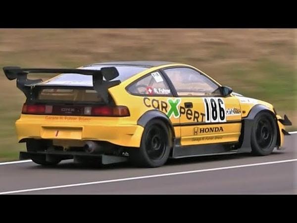 9.200Rpm Honda CRX F20 || 280Hp NA Screamer S2000 Engine Swap